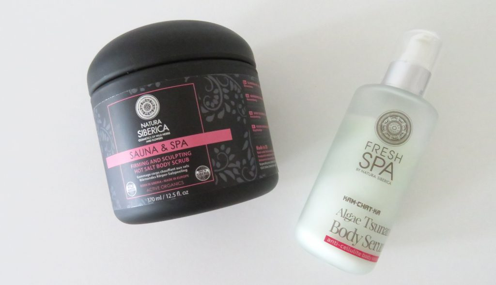 A peeling and a body cream from Natura Siberica