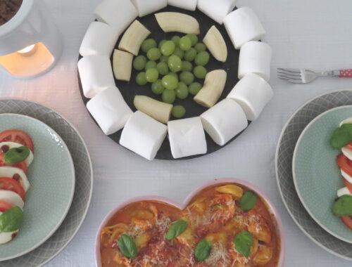 Valentine'S menu at home