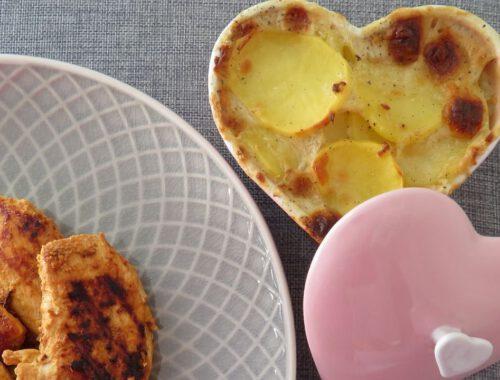 Super tasty Valentine's day menu