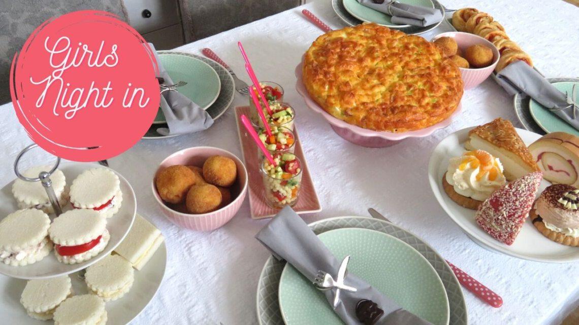 Girls' night in fingerfood recipe ideas