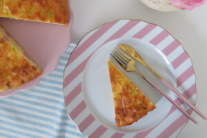 Girls' night in fingerfood recipe ideas - Easy pie withh ham and cheese