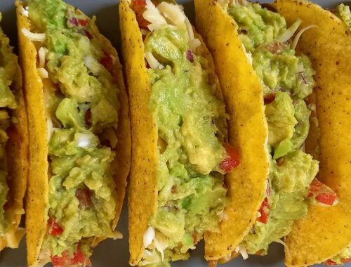 Tacos - Τέλεια τάκος με κοτόπουλο και αβοκάντο
